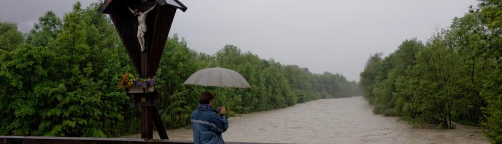 Hochwasser in Oberau