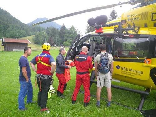 Bergwacht Oberau - im Einsatz mit Christoph Murnau